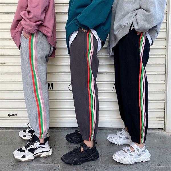 Quần Jogger 3 Sọc Màu