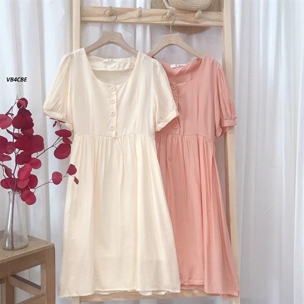 Váy BBD 4 Cúc Buộc Eo