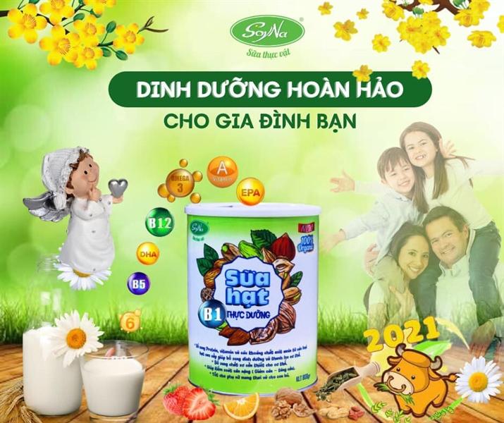 Sữa hạt thực dưỡng cao cấp