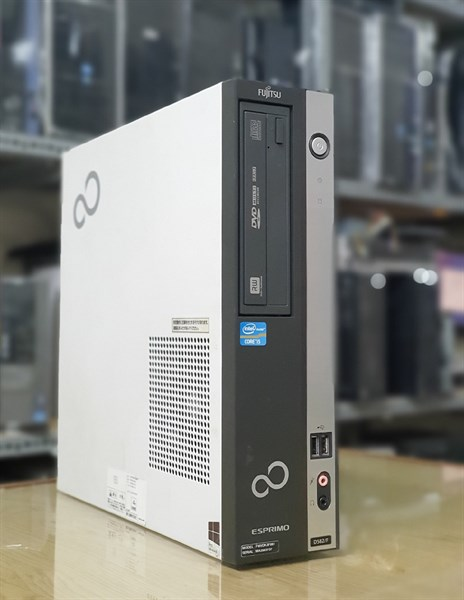 Case Fujitsu H77 CPU Co i5 3470 Ram 4Gx1 SSD 120G + HDD 500G