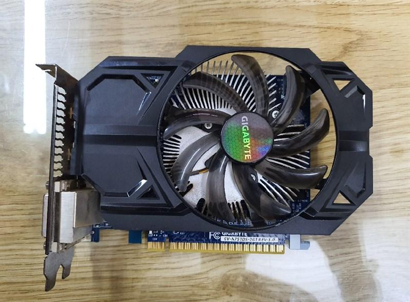 Cạc màn hình 2G 750Ti 2G DDR5