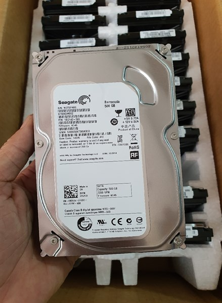Ổ Cứng - HDD 500G PC