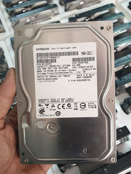 Ổ Cứng - HDD 250G PC