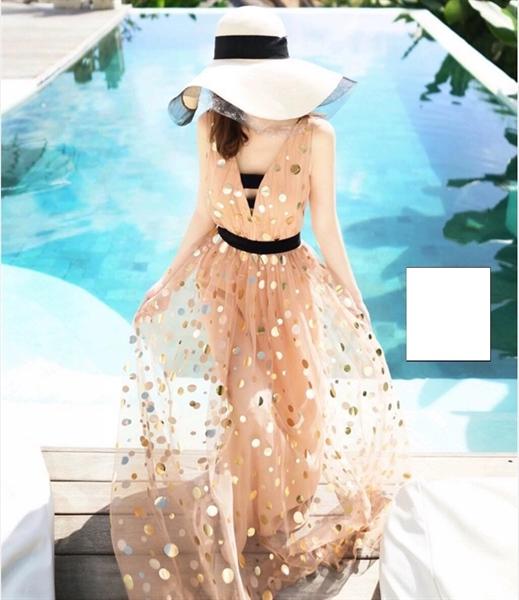 DM220 - Đầm dự tiệc ren dạ hội phong cách nữ thần quyến rũ vintage