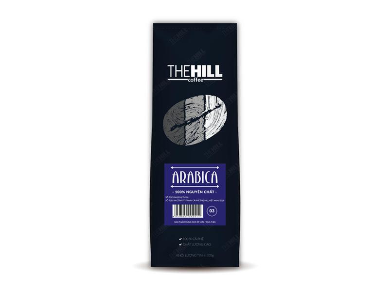 Cà Phê The Hill 100% Arabica 3 500g (Dạng hạt)
