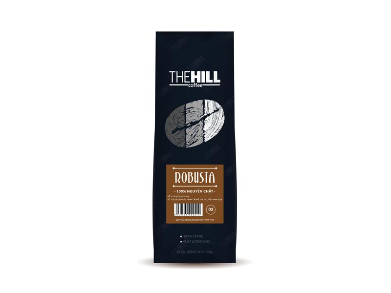 Cà Phê The Hill 100% Robusta 3 500g (Dạng hạt)