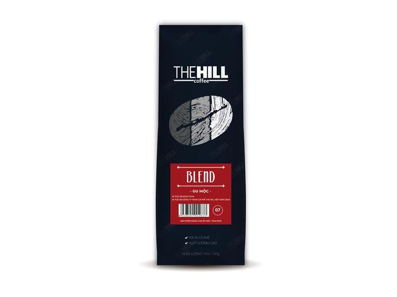 Cà Phê The Hill Blend – Gu Mộc 7 500g (Dạng hạt)