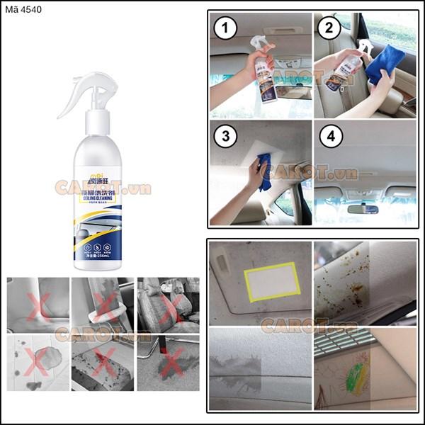 Dung dịch vệ sinh vải, da nội thất