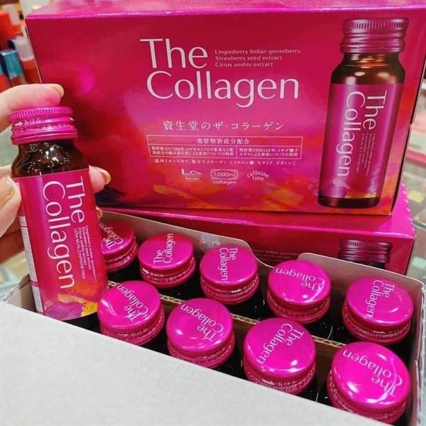 Nước uống Collagen Shiseido Ex Đẹp Da (hộp 10 lọ, mỗi lọ 50ml)