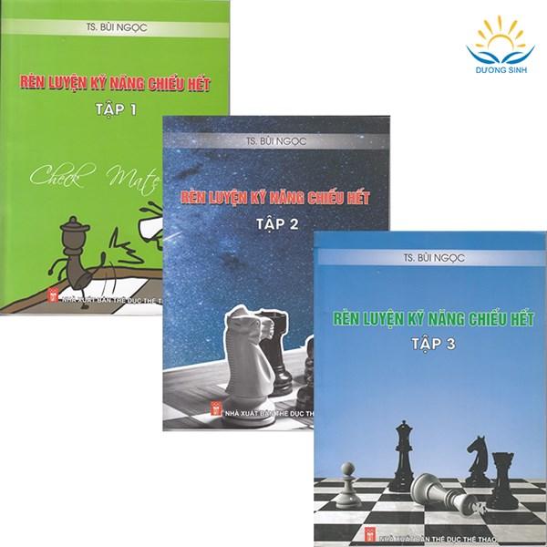"""Combo 3 cuốn """"Rèn luyện kỹ năng chiếu hết"""" Tập 1, 2, 3"""