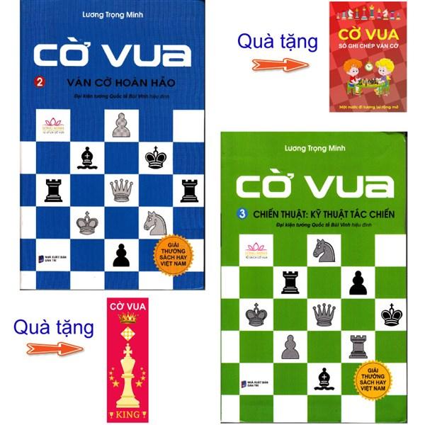 Combo 2 cuốn Cờ vua - Ván cờ hoàn hảo (tập 2), Chiến thuật: Kỹ thuật tác chiến