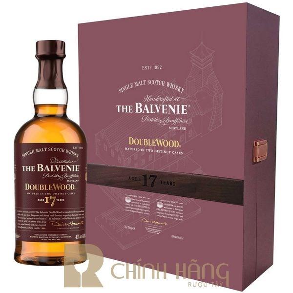 Balvenie 17 Năm - Hộp Quà Tết 2021