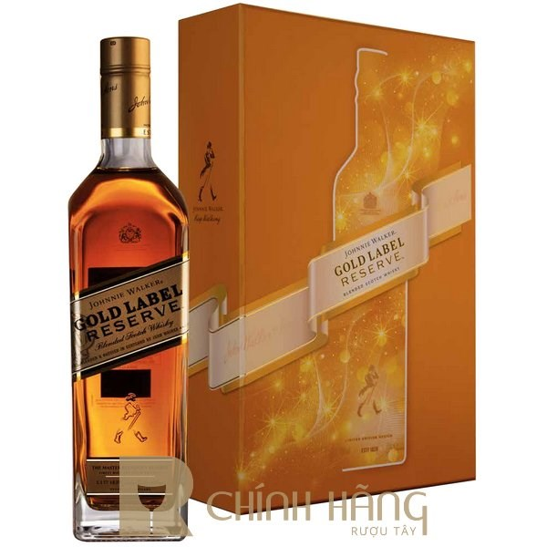 Johnnie Walker Gold Label - Hộp Quà Tết 2021