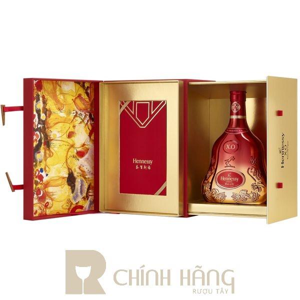 Hennessy XO Limited - Tết 2022 700 ml - hình mô tả 2