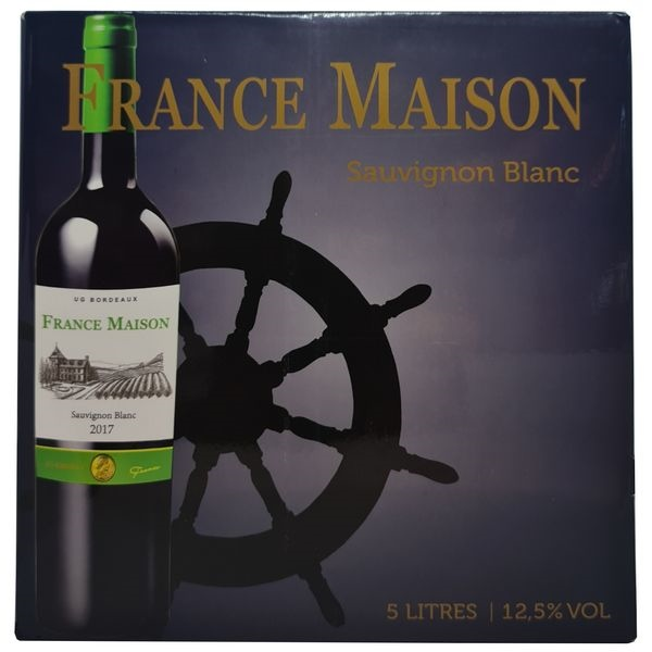 Vang bịch France Maison Sauvignon Blanc 5L (Pháp)