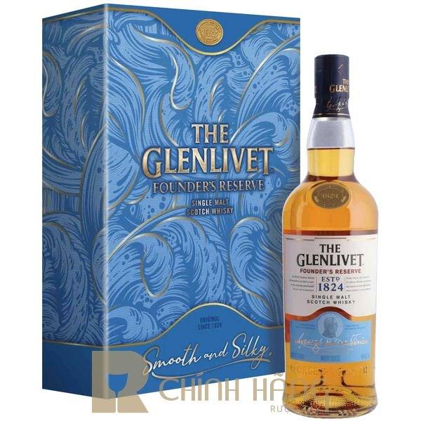 Glenlivet Founder's Reserve - Hộp Quà Tết 2021