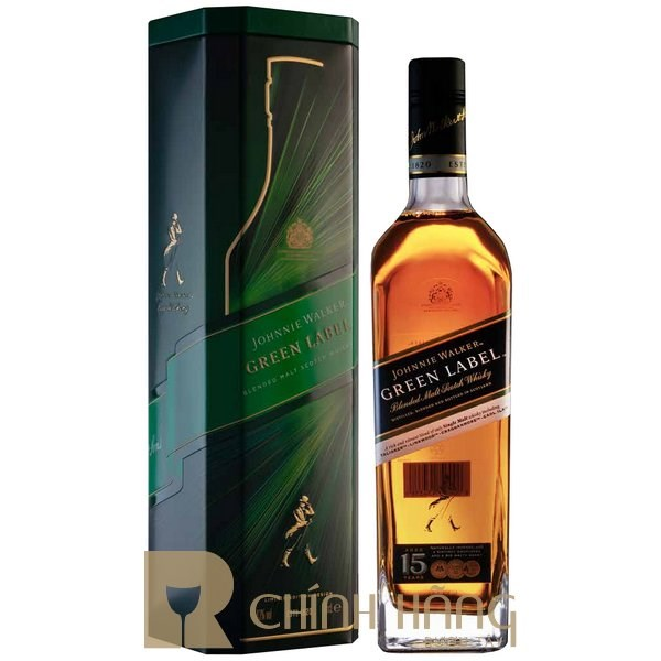 Johnnie Walker Green Label - Tết 2021