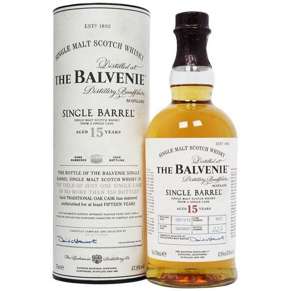 Balvenie 15 Năm Single Barrel 700 ml