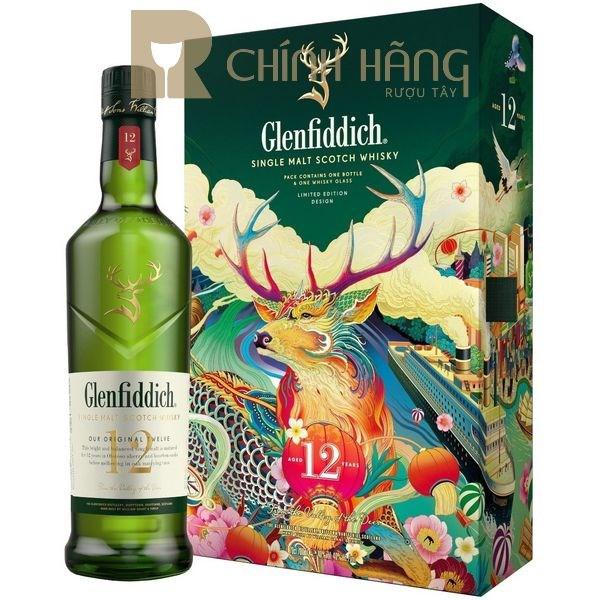 Glenfiddich 12 Năm - Hộp Quà Tết 2021