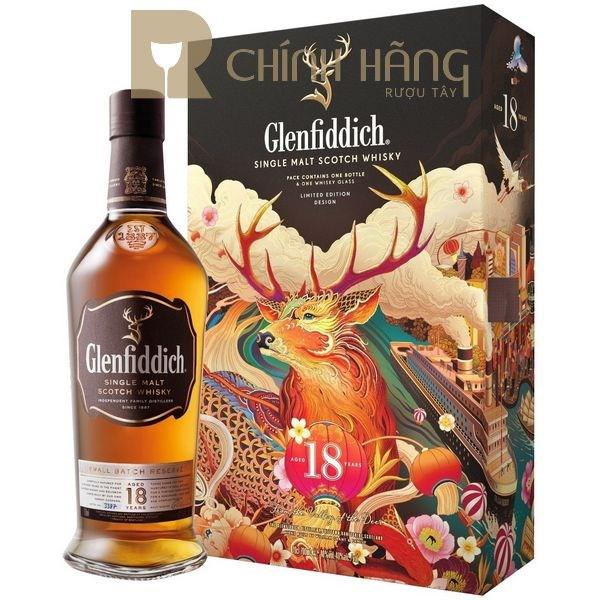 Glenfiddich 18 Năm - Hộp Quà Tết 2021