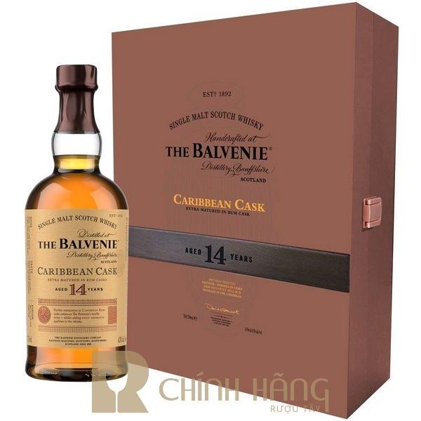 Balvenie 14 Năm - Hộp Quà Tết 2021