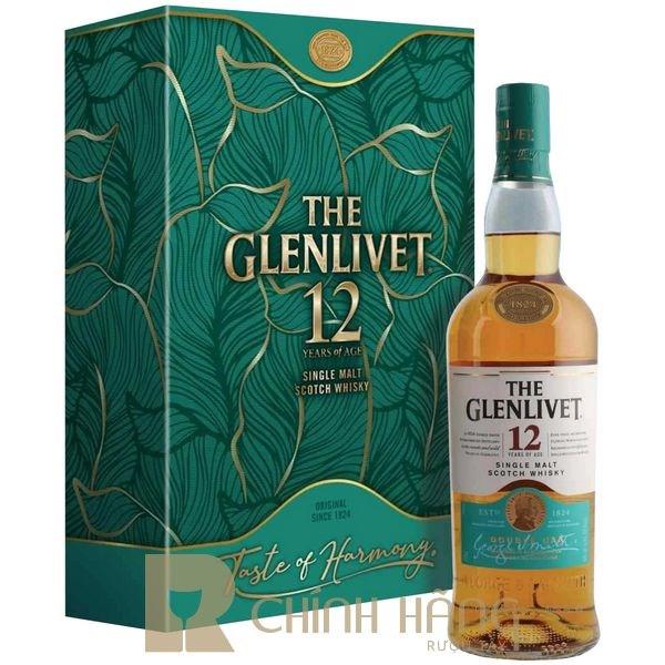 Glenlivet 12 Năm - Hộp Quà Tết 2021