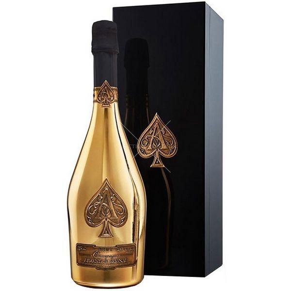 Champagne Armand De Brignac Gold Brut (Ách Bích)