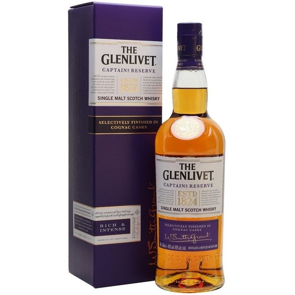 Glenlivet Captain's Reserve Cognac Casks 700 ml