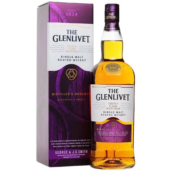 Glenlivet Triple Cask Matured - Distiller's Reserva 1000 ml