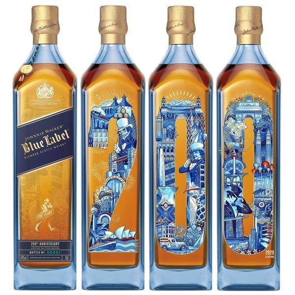 Johnnie Walker Blue Label 200 Years Icons Limited Edition 700 ml - hình mô tả 2