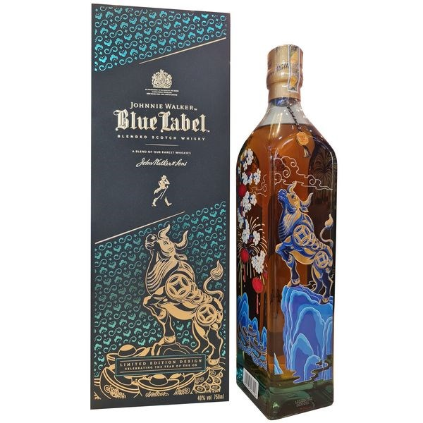 Johnnie Walker Blue Label Year of Ox - Tết Tân Sửu 2021