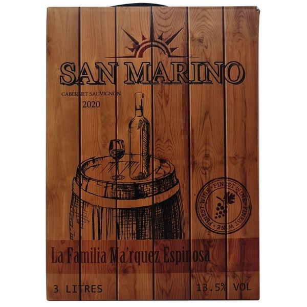 Vang bịch San Marino Cabernet Sauvignon 3L (Chile) 3000 ml