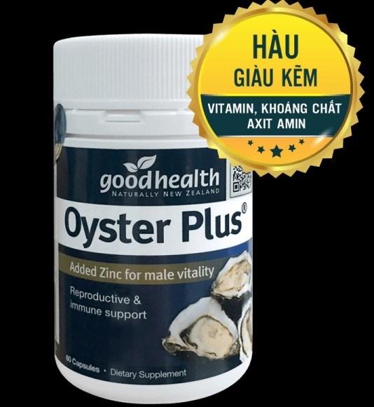 Tinh chất hàu Oyster Plus ZinC Úc, đi air