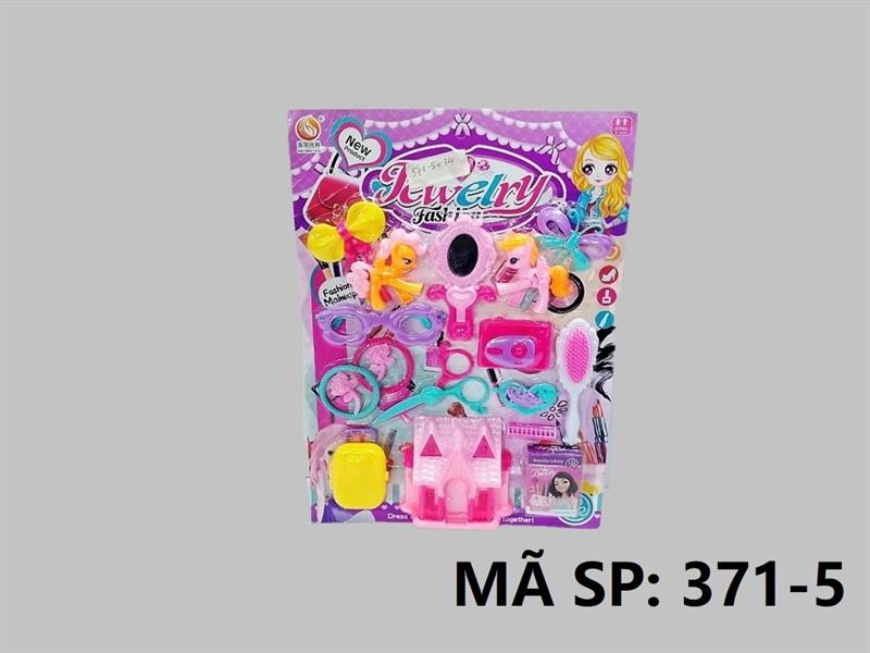 371-5 VĨ TRANG ĐIỂM MẮT KIẾNG, KẸP, GƯƠNG, NHÀ, MÁY CHỤP HÌNH, VÒNG, VALI, 2C NGỰA PONY Jewelry