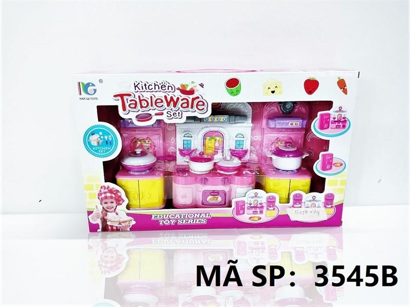 3545B HỘP NHÀ BẾP GAS, TỦ BẾP, NỒI CHẢO 3 NGĂN Kitchen Tableware 3545A, 3545B