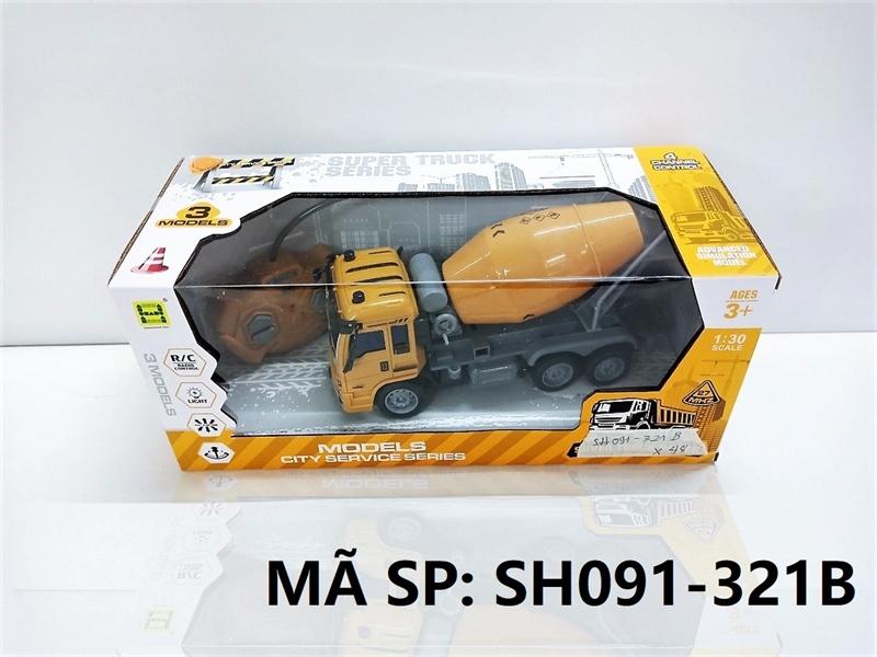 SH091-321B HỘP XE CT TRỘN ĐK 7 Đ.TÁC, CÓ SẠC TL 1:30 Models SH091-320B, SH091-321B, SH091-322B