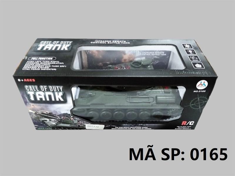 _0165 HỘP XE TĂNG BÁNH XÍCH ĐK 7 Đ.TÁC, XOAY NÒNG, CÓ SẠC Call Of Duty Tank