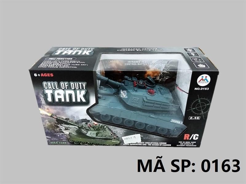 _0163 HỘP XE TĂNG BÁNH XÍCH ĐK 7 Đ.TÁC, XOAY NÒNG, CÓ SẠC Call Of Duty Tank