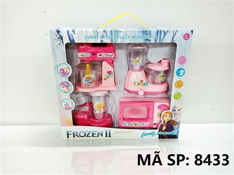 8433 HỘP BẾP 4 MÓN (MÁY TRỘN, MÁY XAY ĐẬU, MÁY XAY SINH TỐ, LÒ NƯỚNG) Frozen II