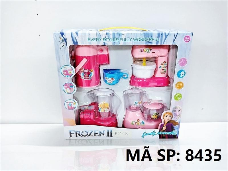 8435 HỘP BẾP 4 MÓN (BÌNH NƯỚC NÓNG, MÁY TRỘN, MÁY XAY SINH TỐ, MÁY XAY ĐẬU) Frozen II