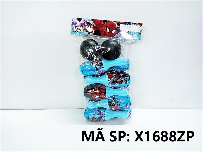 X1688ZP TÚI BANH BOWLING NHỆN 10 TRÁI, 2 BANH (PVC)