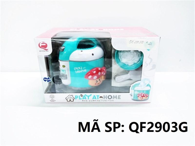 QF2903G HỘP NỒI CƠM ĐIỆN PIN + CHÉN CƠM, GIÁ Play At Home (XANH)