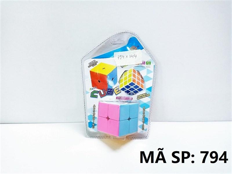 794 VĨ ÉP RUBIC 2C (2X2X2 LỚN, 3X3X3 NHỎ)