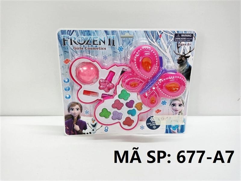 677-A7 VĨ PHẤN TRANG ĐIỂM BƯỚM Frozen II