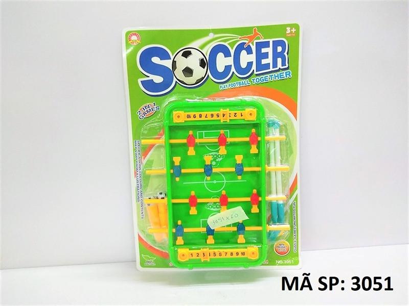 3051 VĨ BÀN BANH 2 IN 1 (Socer play football together)