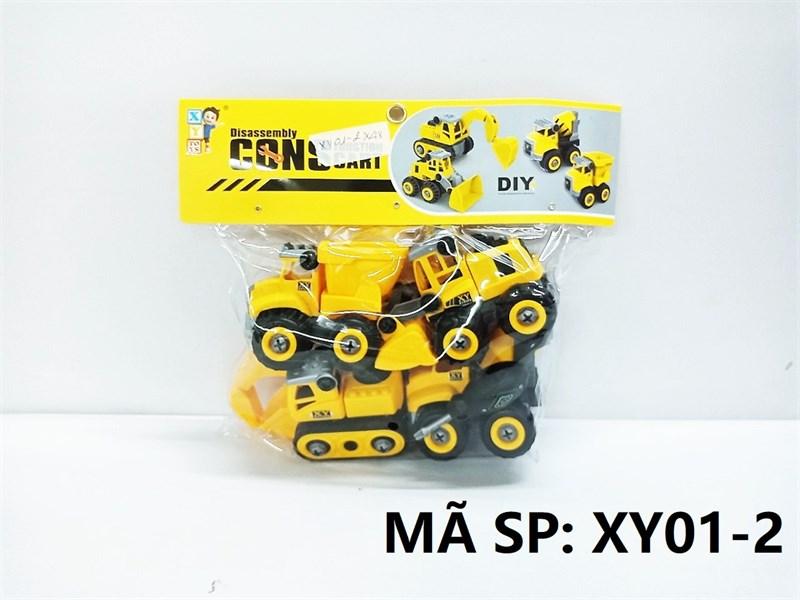 XY01-2 TÚI XE CT TRỚN 4C ĐỦ MẪU + ỐC VÍT (PVC) Construction Cart