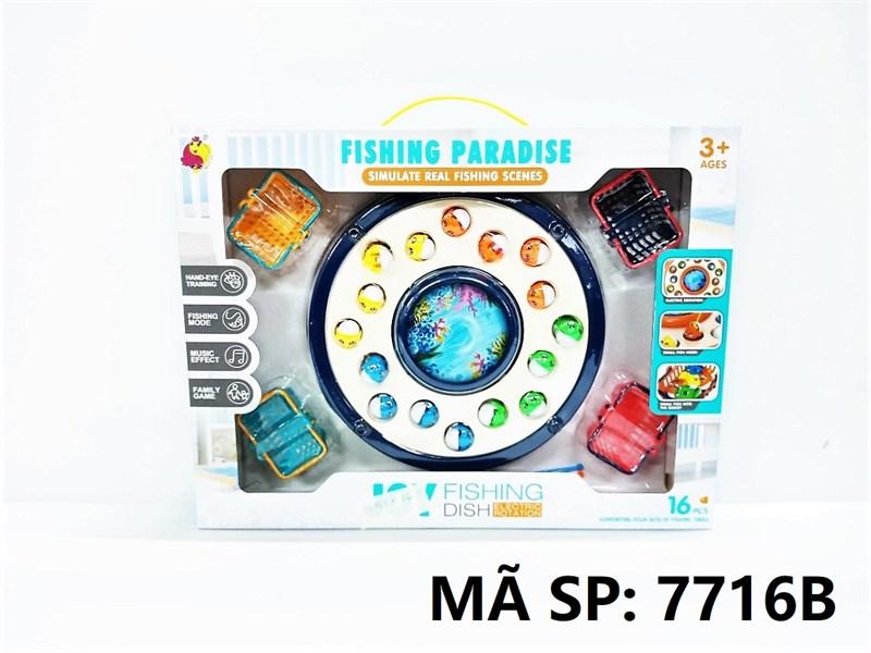 7716B HỘP CÂU CÁ PIN 16C + 4C GIỎ Joy Fishing