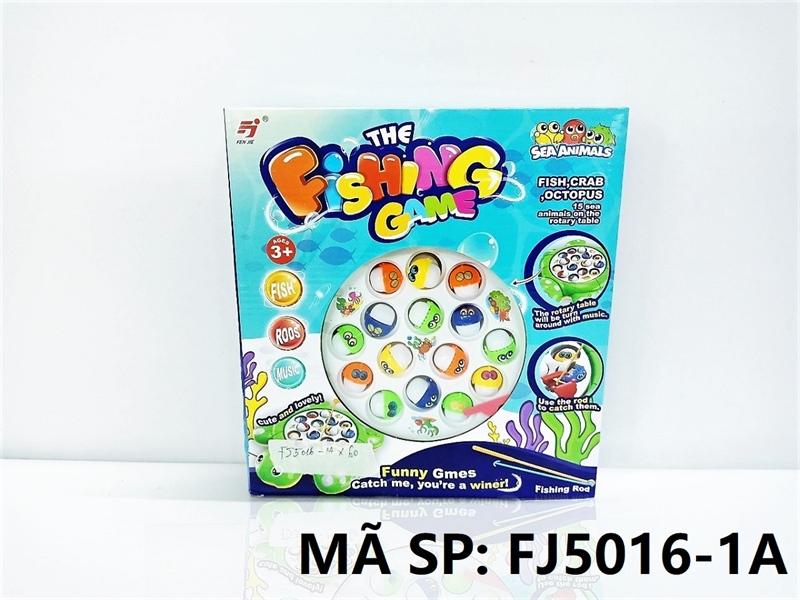 FJ5016-1A HỘP CÂU CÁ PIN RÙA 15C Fishing Game