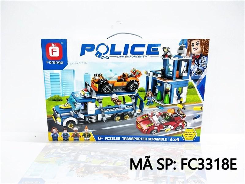 FC3318E HỘP LOGO RÁP XE CS CHỞ XE POLICE