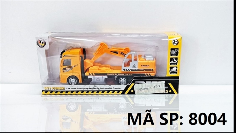 8004 (TÍNH CÁI) HỘP XE CT CÀO SẮT TRỚN Metal Truck Series